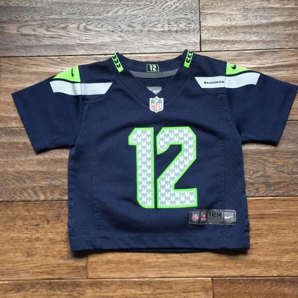 88c59c7aa NFL Shirts & Tops | Nike Seahawks Fan Jersey 12 | Poshmark